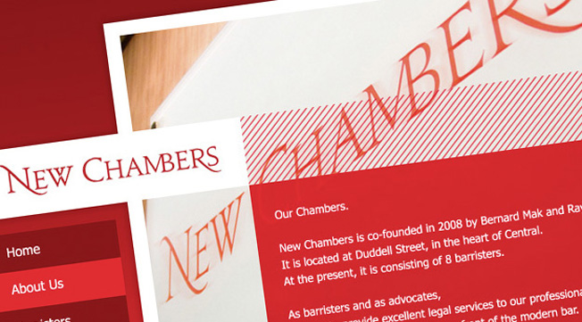 New Chambers website